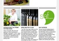 HARVEY NICHOLS HNEWS FOOD - RESTAURANT EMAIL 2012